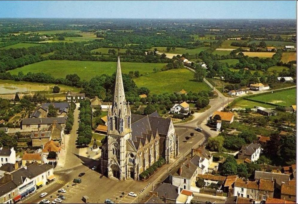 Description de toiture à Saint Philbert de Grand Lieu