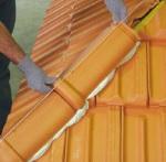 Arêtier pour toiture tuile
