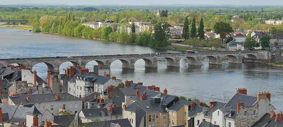 Toiture d'ardoises en région d'Angers
