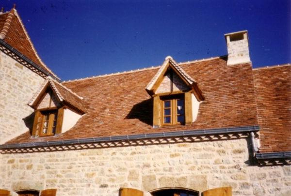 Lucarne pour embellir la toiture